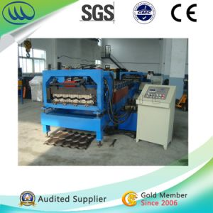 Popular Type Step Tile Roll Forming Machine for Wall Roofing pictures & photos