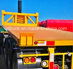 2/3 Axles Container Flatbed Trailer dumper pictures & photos