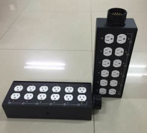 19pin Socapex Power Input Metal Box