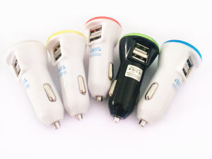 Wholesale 2 USB Ports USB Car Charger pictures & photos