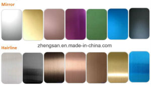 304 Cold Rolled Decorative Stainless Steel Sheet pictures & photos