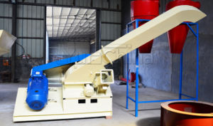 China Manufacture Cheap Price Disc Wood Crusher and Shaping Machine with Smokeless Oven pictures & photos