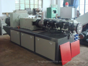 High Efficiency and Advanced Conical Twin Screw Extruder for PVC Pipe pictures & photos