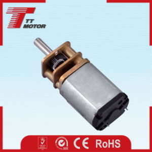 Low speed 12V DC gear small electric motor pictures & photos