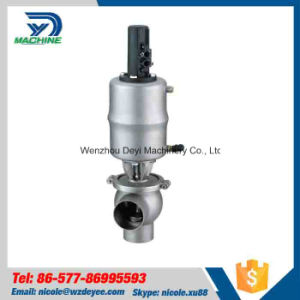 50.8mm Stainless Steel Ss304 Pneumatic Rerversing Valve pictures & photos