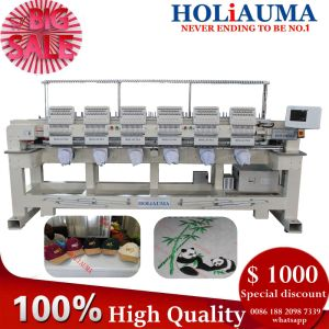 Holiauma Brother Type Embroidery Machine Six Head Multi Head Mutil for Hat Flat Logo T-Shirt Computerized Embroidery pictures & photos