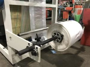 High Speed Roll Plastic T-Shirt Bag Making Machine pictures & photos
