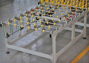 Glass Conveyor Equipment with Transfer/Rotataing/Lifting/Storing Machine pictures & photos