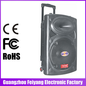 Feiyang/Temeisheng Powerful Loud Bluetooth Wireless Speaker with Trolley--6827D pictures & photos