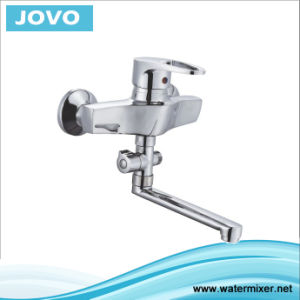 Single Handle Wall-Mounted Kitchen Faucet Jv70904 pictures & photos
