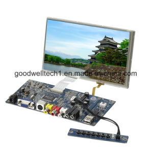 HDMI/AV/VGA Input 7 Inch Touch LCD Module pictures & photos