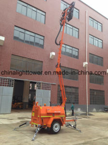 SAA Certified High Hydraulic Four Folded Mast LED Light Tower pictures & photos