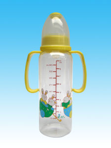 BPA Free FDA LFGB Grade Silicone Feeding Bottle Baby Bottle pictures & photos