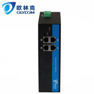 4UTP Unmanaged 10/100Mbps Megabit Industrial Ethernet Switch (IM-WS040FE)
