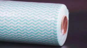 22 Mesh Wavy Nonwoven Spunlace Cloth for Kitchen Cleaning pictures & photos