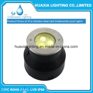 Ss316 IP68 12V LED Underwater Inground Light pictures & photos