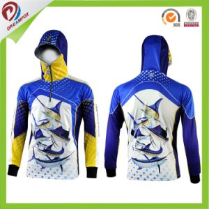 Cheap Custom Dye Sublimation Printing Tournament Fishing Hoodies Wear pictures & photos
