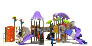 Luxury Amusement and Climber Combined Slide Outdoor Play Equipment (YL-K166-15) pictures & photos