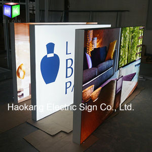 Advertising Light Box with Picture Frame for LED Open Sign pictures & photos