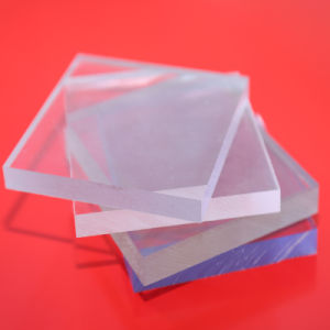 3mm Clear Solid Polycarbonate Plastic Sheets for Swimming Pool Wall Panels pictures & photos