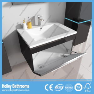 The New LED Light Touch Switch High-Gloss Paint Sanitary Ware-B798d pictures & photos