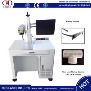 Contour Fiber Laser Marking Machine for Spectacle Frame pictures & photos
