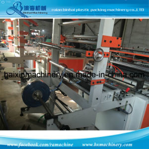 OPP Bread Plastic Bag Making Machine pictures & photos