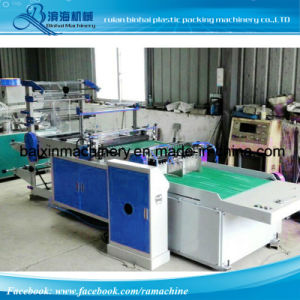 Double Lines BOPP Plastic Gift Bag Making Machine Pearl Film Head Block pictures & photos