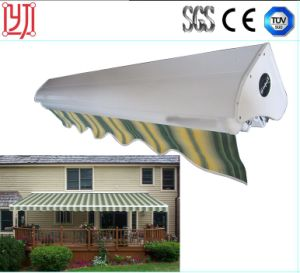Half Cassette /Full Cassette Awning /Strong Folding Arm Awning/Folding Arm Retractable Motorized Awnings pictures & photos