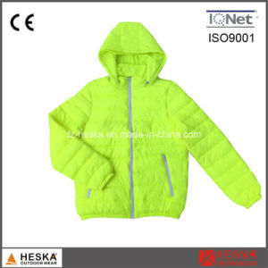 Winter Warm Padded Fake Down Jacket pictures & photos
