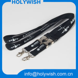 Custom Logo Brand Silkscreen Printing Lanyard Free Sample pictures & photos