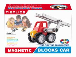 Newest Magnetic Block Car Puzzle for Kids pictures & photos