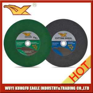 350mm Fiber Glass Cutting Disc for Stainless Steel Manufacturer pictures & photos
