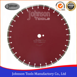 450mm Laser Welded Diamond Concrete Saw Blade for Cutting Cured Concrete pictures & photos