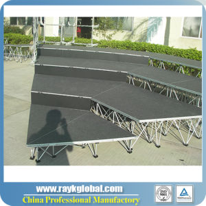 Top Safety Choral Mobile Stage Plywood Stage Folding Stage pictures & photos