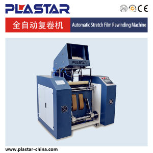 Full Automatricl Stretch Film Rewinding Machine pictures & photos