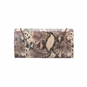 Geometric Front Python Print Clutches (MBNO041129) pictures & photos