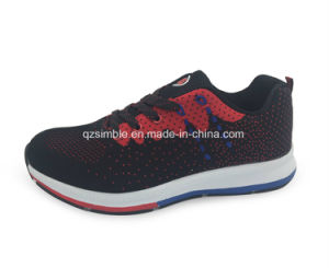 New Design Sports Running Shoes for Men Women with Flyknit pictures & photos