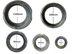 Hard Drawn Steel Wire AISI1045 for Fastener Application pictures & photos