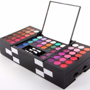 145 Color Shimmer Matte Eyeshadow Palette 3 Colors Blusher Es0294 pictures & photos
