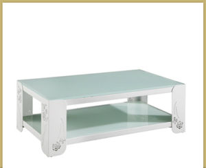 Modern Simple Stainless Steel Coffee Table for Dining Room pictures & photos