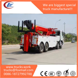 Sino HOWO 8X4 Multipurpose Road Wrecker Truck pictures & photos