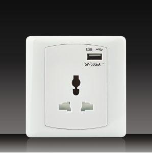 5V/500mA Mf USB Socket (DK17) pictures & photos