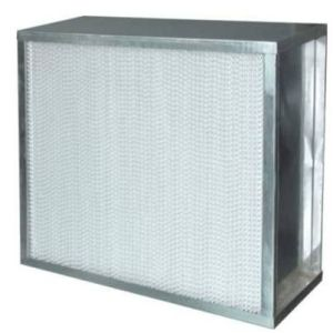 Aluminum Frame Deep Pleat HEPA Air Filter Filtros pictures & photos