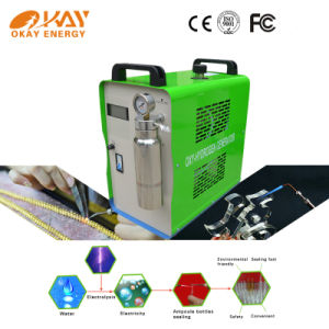Micro Oxyhydrogen Flame Polishing Optical Crystals Machine pictures & photos