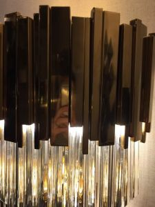 Simple Design Customized Room Crystal Wall Lamp (KAW1623) pictures & photos