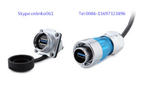 Dh24 USB Connector for LED Display Screen, Industrial Equipment and Other Field pictures & photos
