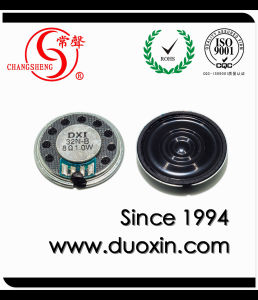 32mm 200~5kHz 8ohm 0.5W Micro Magnetic Dynamic Speaker pictures & photos