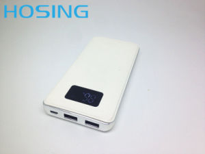 2017 Hot Selling Customized Logo Polymer Battery USB Power Bank 10000mAh with Low Price for Mobile Phone pictures & photos