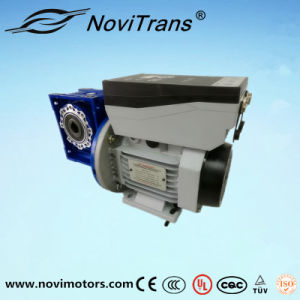 1.5kw Power Servo Speed Control Motor with Decelerator (YVM-90D/D) pictures & photos